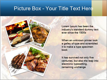 Roasted Wings PowerPoint Template - Slide 23