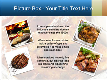 Roasted Wings PowerPoint Templates - Slide 24