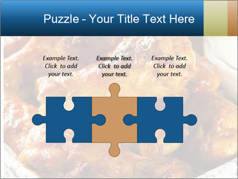Roasted Wings PowerPoint Templates - Slide 42