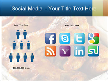Roasted Wings PowerPoint Templates - Slide 5