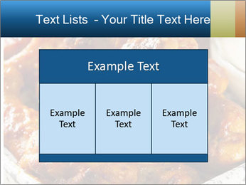 Roasted Wings PowerPoint Templates - Slide 59