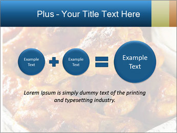 Roasted Wings PowerPoint Template - Slide 75