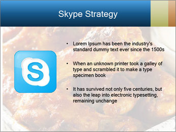 Roasted Wings PowerPoint Template - Slide 8