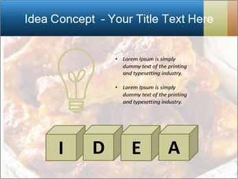 Roasted Wings PowerPoint Template - Slide 80