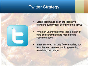 Roasted Wings PowerPoint Templates - Slide 9