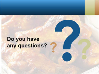 Roasted Wings PowerPoint Templates - Slide 96