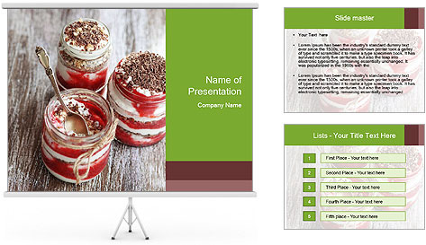 Healthy Dessert PowerPoint Template