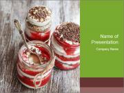 Healthy Dessert PowerPoint Templates