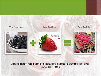 Healthy Dessert PowerPoint Templates - Slide 22
