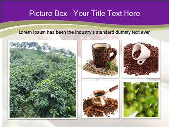 Coffee Beans In Palms PowerPoint Template - Slide 19