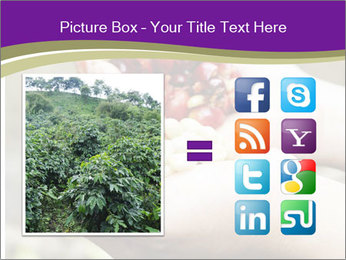 Coffee Beans In Palms PowerPoint Template - Slide 21