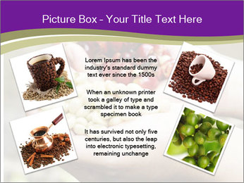 Coffee Beans In Palms PowerPoint Template - Slide 24