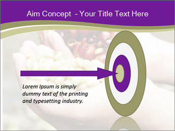 Coffee Beans In Palms PowerPoint Template - Slide 83
