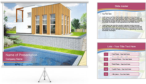 Majestic House PowerPoint Template