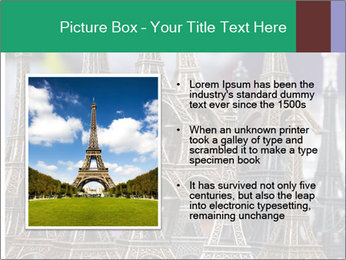 Eiffel Tour Souvenir PowerPoint Template - Slide 13