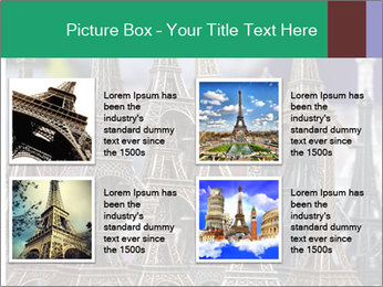 Eiffel Tour Souvenir PowerPoint Template - Slide 14