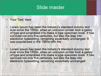 Eiffel Tour Souvenir PowerPoint Template - Slide 2
