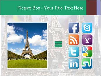 Eiffel Tour Souvenir PowerPoint Templates - Slide 21