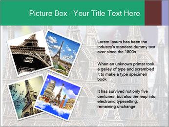 Eiffel Tour Souvenir PowerPoint Templates - Slide 23