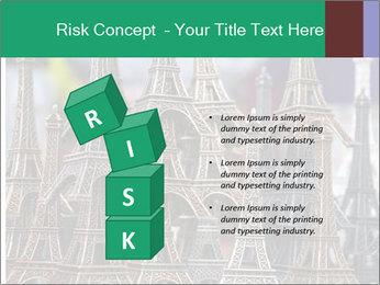 Eiffel Tour Souvenir PowerPoint Templates - Slide 81