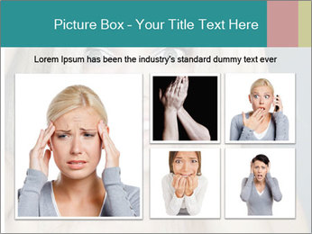 Shocked Woman PowerPoint Template - Slide 19