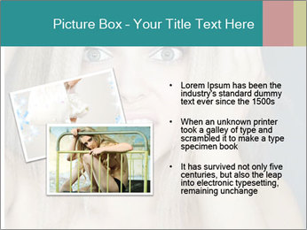 Shocked Woman PowerPoint Template - Slide 20
