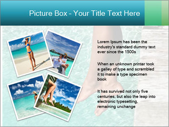 Sexy Female Legs PowerPoint Template - Slide 23
