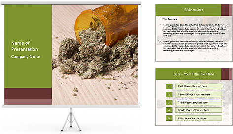 Ganja PowerPoint Template