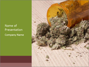 Ganja PowerPoint Template - Slide 1