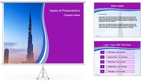 Super High Building PowerPoint Template
