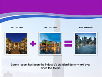 Super High Building PowerPoint Template - Slide 22