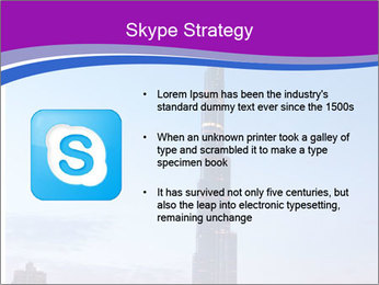 Super High Building PowerPoint Template - Slide 8