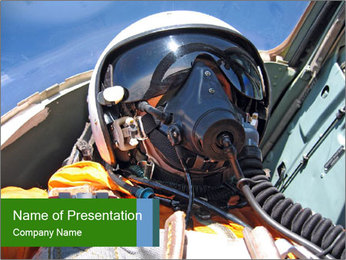 Army Pilot PowerPoint Templates - Slide 1