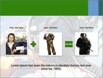 Army Pilot PowerPoint Templates - Slide 22