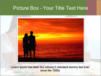 Just Married Couple Drinking Coffee PowerPoint Template - Slide 15
