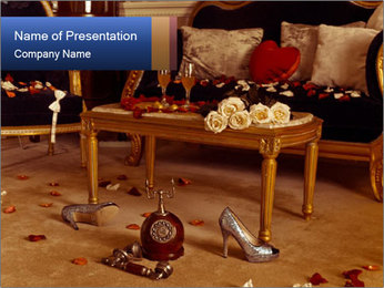 Retro Apartment PowerPoint Templates - Slide 1