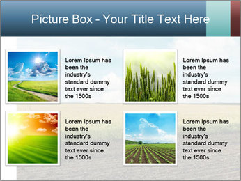 Yellow Field PowerPoint Templates - Slide 14