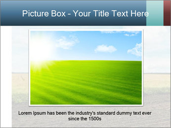 Yellow Field PowerPoint Templates - Slide 15