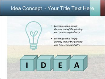 Yellow Field PowerPoint Templates - Slide 80