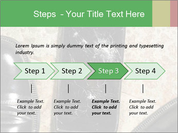 Black Leather Shoes PowerPoint Template - Slide 4