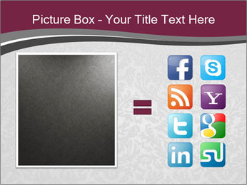 Grey wallpapers PowerPoint Template - Slide 21