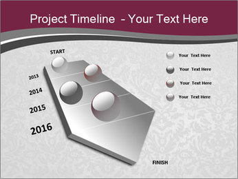 Grey wallpapers PowerPoint Template - Slide 26