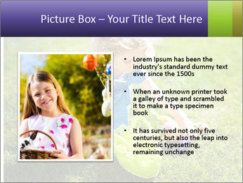 Girl playing on the grass PowerPoint Templates - Slide 13