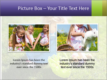 Girl playing on the grass PowerPoint Templates - Slide 18