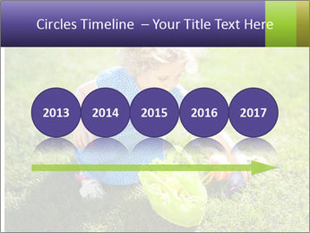 Girl playing on the grass PowerPoint Templates - Slide 29