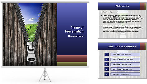 Open Horizons PowerPoint Template