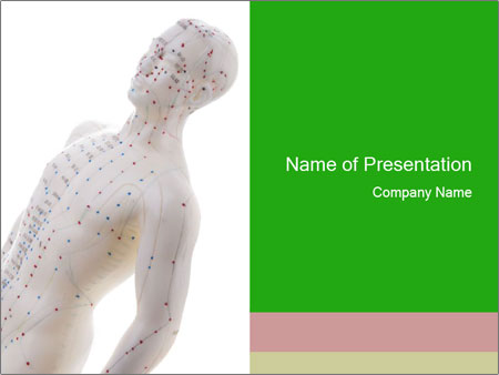 Mannequin Of Man PowerPoint Templates