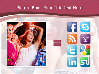 Girls Party PowerPoint Template - Slide 21