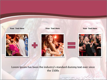 Girls Party PowerPoint Template - Slide 22