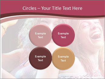 Girls Party PowerPoint Template - Slide 38